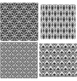damask set vector image vector image