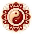 oriental zen design element vector image vector image