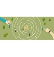 maze business labyrinth challenge vector image