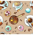 coffee your for design vector image