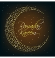 Ramadan Kareem Background Design vector image