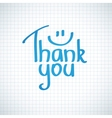 Thank You vector image
