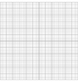 Gray graph grid seamless pattern vector image