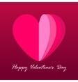 ard Happy Valentine s Day vector image