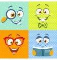 smiles cute vector image vector image