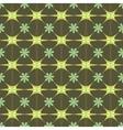 Flower green pastel seamless pattern vector image
