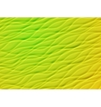 Green and yellow summer waves background vector image