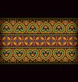Thai pattern sarong vector image