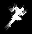 a sprinter vector image