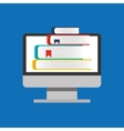education online global e-learning vector image