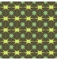 Flower green pastel seamless pattern vector image