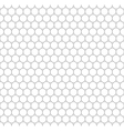 Gray grid of five millimeters circles seamless vector image