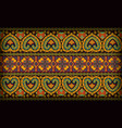 Thai pattern sarong vector image
