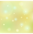 Bokeh lemon yellow tone background vector image vector image