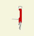 Pocket Multi tool Icon vector image