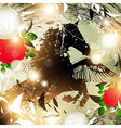 Fantasy Nature Horse vector image