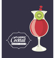 classic cocktail vector image