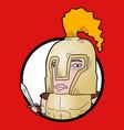 roman cartoon vector image