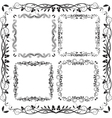 square frames vector image