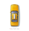 New York Taxi vector image