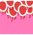 Pink Party Background for your Text with Paper vector image