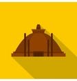 Memorable ruins in Polonnaruwa Sri Lanka icon vector image