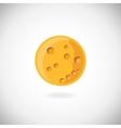 Moon icon vector image