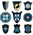 Shields and medals vector image