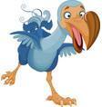 Running Dodo vector image vector image