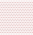 Polka dot red seamless pattern vector image