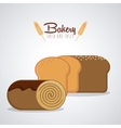 Bakery icons design vector image