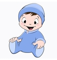 Cartoon Baby vector image vector image