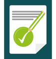 Survey design illlustration vector image