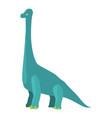 diplodocus icon cartoon style vector image