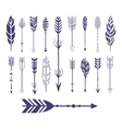 Quills And Arrows Graphic Collection vector image