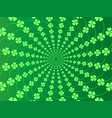 green spring background with fresh leaves of vector image