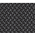 Dark weave pattern vector image vector image