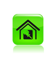 paint house icon vector image vector image