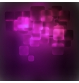 Purple abstract 3D warped square background EPS 8 vector image vector image