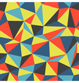 triangle colorful pattern seamless vector image