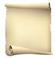 old scroll paper banners  drawing vector image vector image