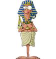 ancient pharaoh vector image