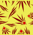 abstract flower pattern vector image