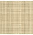 Canvas linen fabric vector image