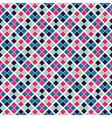 Retro beauty seamless pattern vector image