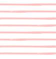 brushstroke stripes seamless pattern vector image