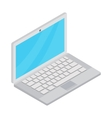 Laptop icon cartoon style vector image