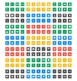Universal icon set - Material Design vector image