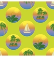 Seamless tropical background vector image vector image