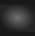 Circle metallic sieve background vector image
